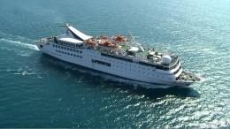 Видео: после взрыва впорту Бейрута затонул круизный лайнер Orient Queen