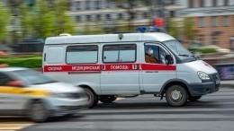 Фото водителя Mercedes, наполной скорости влетевшего вдвух женщин назебре вМоскве