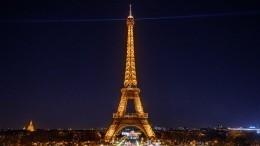 Эйфелева башня погасила огни впамять опогибших вБейруте