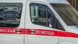 Жуткие кадры: Mercedes наполном ходу сбил двух женщин-пешеходов вМоскве