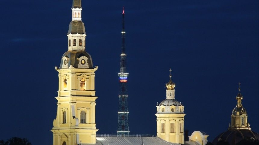 ВПетербурге отключат подсветку телебашни взнак траура попогибшим вБейруте