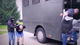 Задержание 33 россиян вБелоруссии— провокация украинских спецслужб