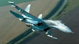 Российский истребитель Су-27 перехватил самолеты-разведчики США над Черным морем
