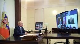 Путин предложил Совбезу обсудить положение дел напостсоветском пространстве