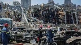 Поменьшей мере 60 человек пропали без вести после взрыва вБейруте