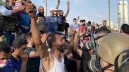 ВБейруте более 100 человек пострадали входе столкновений