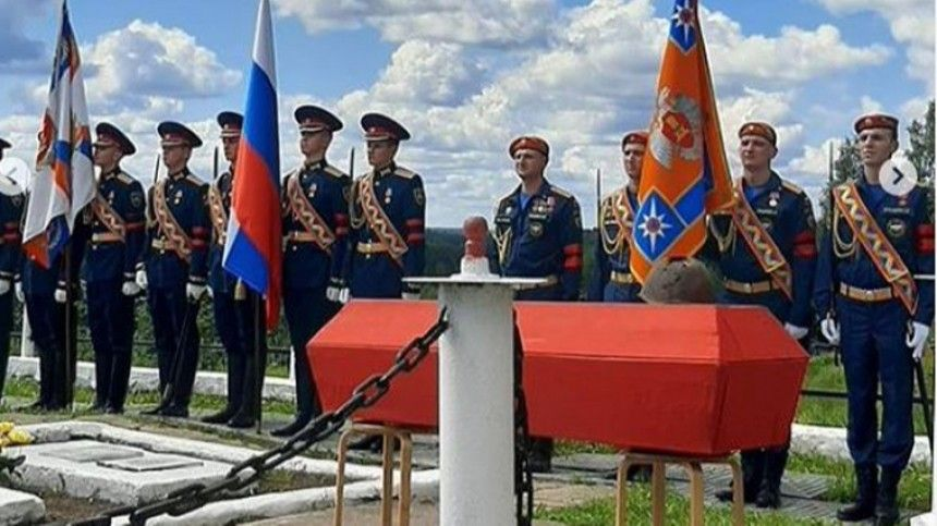 ВТверской области перезахоронили останки воинов, погибших вгоды Великой Отечественной