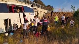 Пять человек погибли вДТП савтобусом вТурции