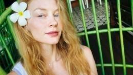 «Девочка— лето»: Ходченкова снялась без мейкапа сзубной щеткой вволосах