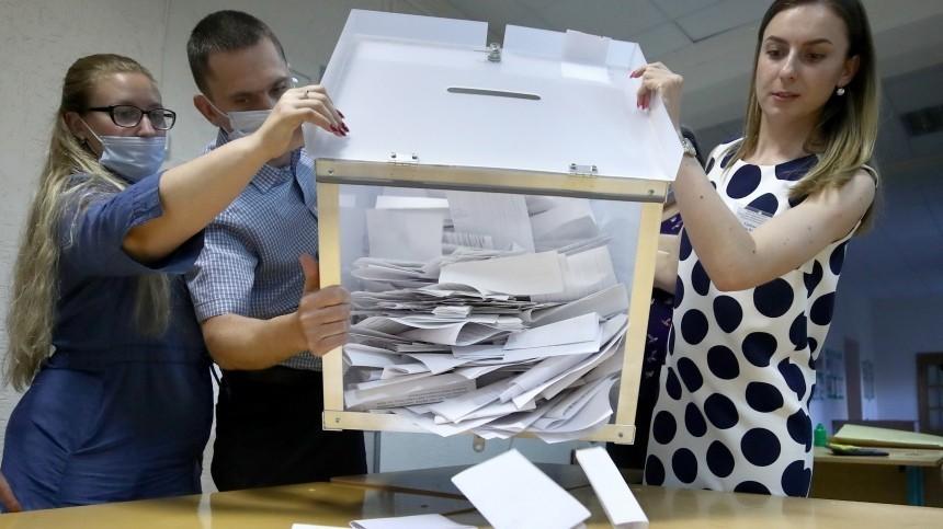 ЦИК подвел промежуточные итоги президентских выборов вБелоруссии