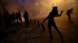 Видео: Демонстранты вБейруте захватили здания четырех министерств