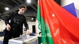 ЦИК Белорусии озвучил предварительные итоги выборов президента