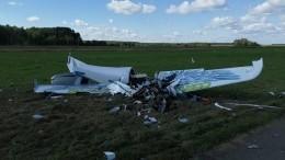 Видео: самолет разбился вовремя выполнения пилотажной фигуры «бочка»