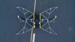 Видео испытаний российского логистического дрона-дальнобойщика