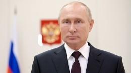 Путин заявил, что одна изего дочерей сделала прививку откоронавируса