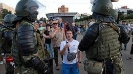 Путин обсудил сМакроном ситуацию спротестами вБелоруссии