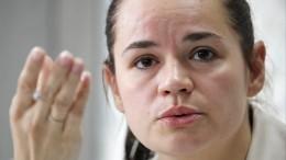 Тихановская заявила, что навыборах ееподдержали 60-70% избирателей