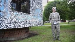 Жители Екатеринбурга начали восстанавливать испорченную работу Покраса Лампаса