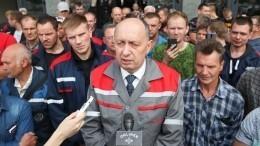 Из-за забастовки частично остановлена работа Минского тракторного завода