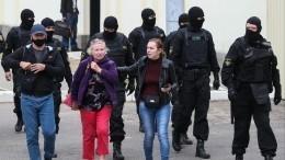 Видео: Силовики опустили щиты перед протестующими вМинске