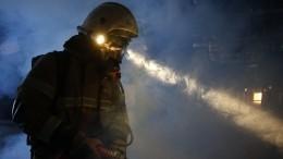Два человека сгорели при пожаре вчастном доме вПодмосковье