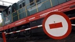 Видео: Мужчина впоследнюю секунду спас пенсионерку отмчащегося поезда