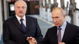 ВКремле рассказали отелефонном разговоре между Путиным иЛукашенко