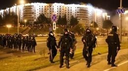 Предполагаемый момент гибели участника протестов вМинске— видео (18+)