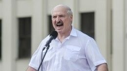 Лукашенко заявил, что непойдет наслом Белоруссии