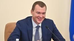 Видео: Дегтярев отправил вотставку министра здравоохранения Хабаровского края