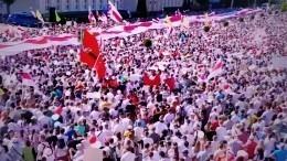 Как европейские лидеры отреагировали напротесты вБелоруссии— видео