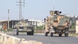 Видео: российско-турецкий патруль был атакован боевиками вСирии