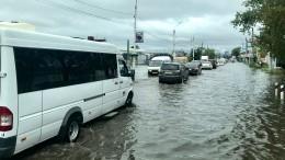 Режим ЧСвведен вБлаговещенске после затопившего город ливня