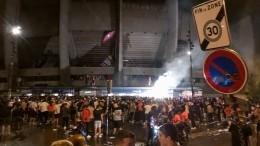 Фанаты «Пари Сен-Жермен» жарко отметили исторический выход клуба вфинал ЛЧ