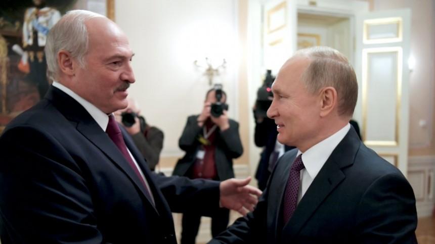 «Передайте ей»: Лукашенко попросил Путина поговорить сМеркель