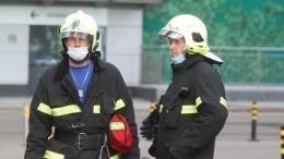ВСевастополе горит пятиэтажка после взрыва газа— видео