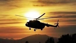 Летевший котшельнице Агафье Лыковой вертолет повредил шасси при посадке вХакасии