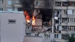 Видео сместа обрушения перекрытий вжилом доме Ярославля