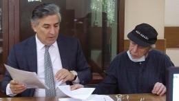 Экс-адвокат Ефремова заявил, что актер «завязал» салкоголем