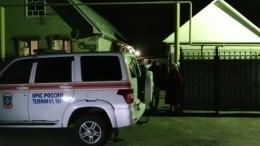 Видео сместа гибели пяти человек, провалившихся ввыгребную яму под Воронежем