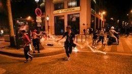 Французские болельщики устроили уличные беспорядки после финала Лиги чемпионов
