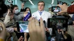 Главврач омской больницы отметил заслуги врачей вспасении жизни Навального