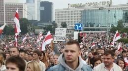 ВБелоруссии задержали двух оппозиционеров за«организацию протестов»