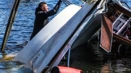 Ребенок идвое взрослых утонули при опрокидывании лодки вДагестане