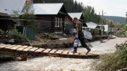 Амурская область вожидании пика паводка. Уровень воды вреках продолжает расти