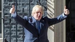 Борис Джонсон может уйти вотставку