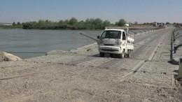 «Курган Камчатке: прием!»— военные РФпостроили переправу через Ефрат вСирии