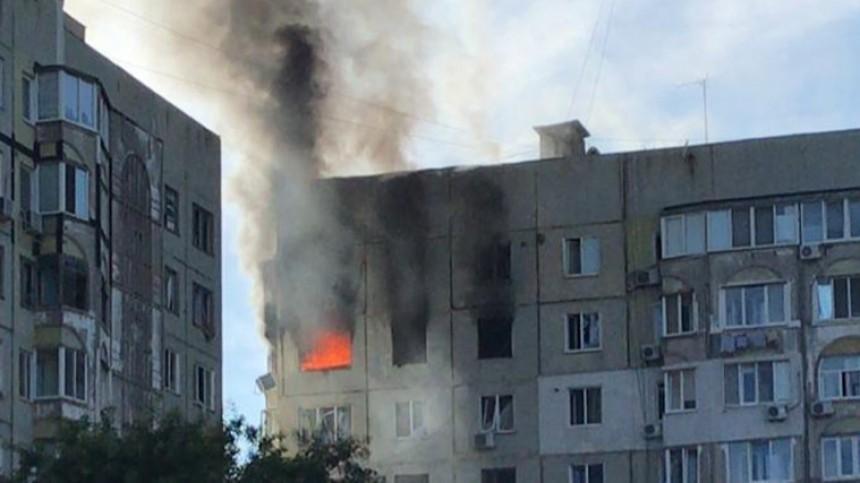 Один человек пострадал врезультате хлопка газа вжилом доме вКерчи