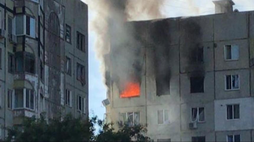 После взрыва вдоме вКерчи обрушились межэтажные перекрытия