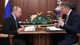 Глава Башкирии поблагодарил Путина завнимание кситуации поБашкирской содовой компании